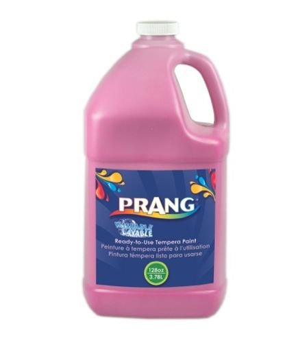 Prang Ready-to-Use Washable Tempera Paint, 1 Gallon Bottle, Magenta (10610)
