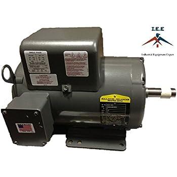 New Baldor 5 Hp 1 Ph Air Compressor Electric
