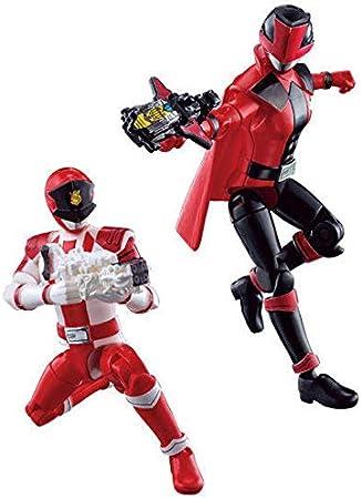 Bandai Shokugan Yudo 2 Kaitou Sentai Lupinranger VS Keisatsu Sentai Patoranger Set of 5