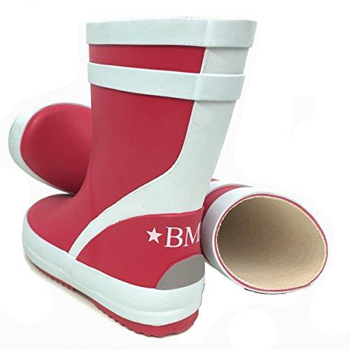 BMS Bottes en caoutchouc rouge taille 20 - Rouge - Rouge, 22