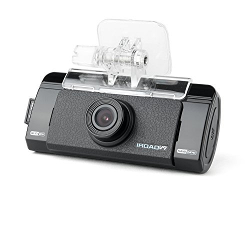IROAD V9 WIFI 2CH Blackbox Dashcam 16GB SET(WiFi Dongle, Uninterrupted Fuse Cable), FullHD(1080p), WIFI DVR Car Vehicle Video Recorder - Dash Camera Video Recorder Digital DVR Recorder