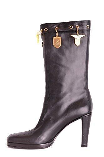 Dirk Bikkembergs Women's MCBI097050O Black Leather Ankle Boots factory outlet for sale buy cheap reliable 100% guaranteed for sale MggbQsE75