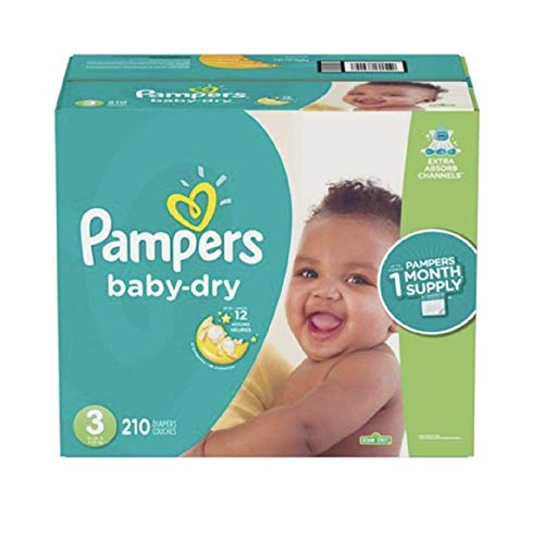 Pampers Diapers Size 3 (OLD)