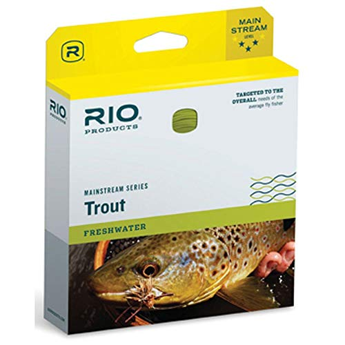 RIO Products Fly Line Mainstream Type 6 Full Sinking Line Wf6S6, -