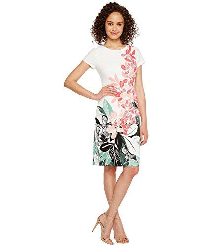 驚いた来て漫画[アドリアナパペル] Adrianna Papell レディース Placed Kingston Floral Printed Stretch Crepe Sheath Dress ドレス [並行輸入品]