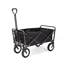 Easily haul your gear with the MAC Sports Folding Utility Wagon. It opens in SECONDS! The lightweight durable design has a 150 lb. capacity and is a must have to transport heavy bulky loads. Great for trips to the park, camping, outdoor sporting even...