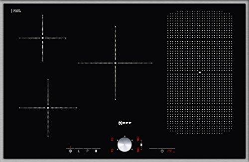 Neff TT 5386 N Kochfeld Elektro / Induktion / 80,30 cm / Kochstelle Glaskeramik / edelstahl