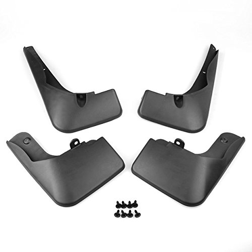 For Toyota RAV4 2013 2014 2015 New Set Of Black ABS Car Mud Flaps Splash Guards Fender Guard Front Rear 99/_OnLine