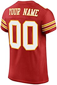 Custom American Stitched Football Jersey for Men/Women/Youth,Design Personalized Shirts Team Name and Number