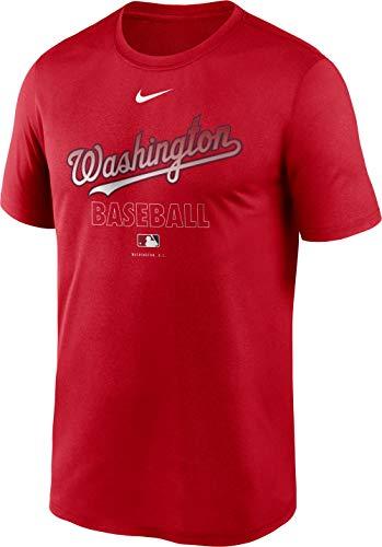 Nike Men's Washington Nationals Red Authentic Collection Legend Dri-FIT T-Shirt 1