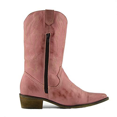 Kick Footwear Western Stivali Donna Rosa r4Urqw