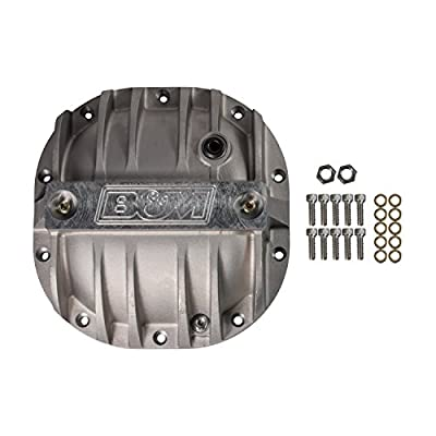 B&M 40297 Cast Aluminum Rear End Differential Cover: Automotive