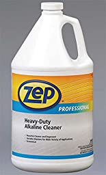 Zep Professional R08524 Heavy Duty Alkaline Cleaner, Slight/Butyl Fragrance, Clear/Blue-Green