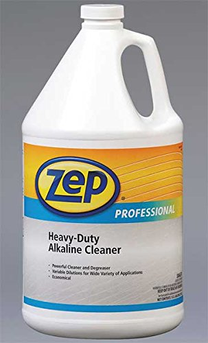 - Zep Professional R08524 Heavy Duty Alkaline Cleaner, Slight/Butyl Fragrance, Clear/Blue-Green