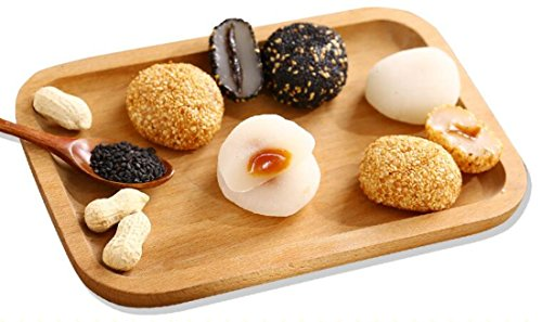 Taiwan specialty: Maidelong mochi multi-flavors mochi rice dumplings without cooking glutinous rice cake mixed flavour 500g/17.7oz -
