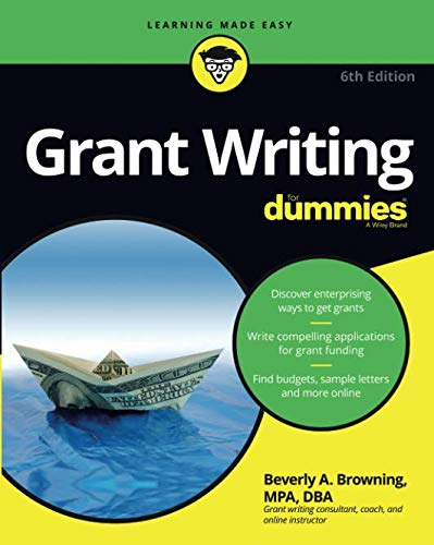 Grant Writing For Dummies 6e (Writing Fundraising)