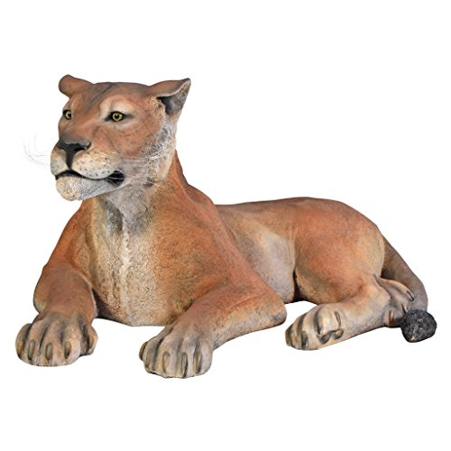 Grand Scale Lioness Lying Down Statue