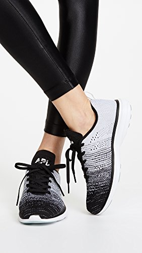 APL: Athletic Propulsion Labs Womens Ascend Sneakers Black/Heather Grey/White Fvok9qUy5