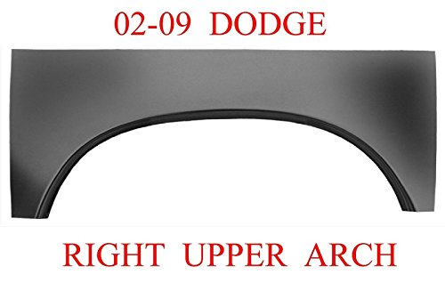 02 09 RIGHT Dodge Upper Wheel Arch Rust Repair Panel Ram Truck 331-59R 1583-148 (Panel Repair Panel Quarter)