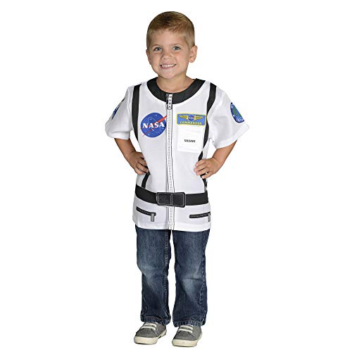 Aeromax, Inc. My 1st Career Gear White Astronaut Top, Ages 3-6