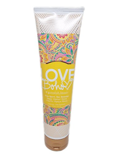- NEW 2017 Swedish Beauty Love Boho Free Spirit Tan Extender 10 oz