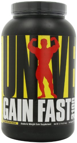 Universal Nutrition Gain Fast 3100, Pina Colada Shake, 5.1-Pounds