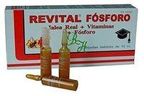 Revital Fósforo 20 ampollas de Pharma Otc: Amazon.es: Salud y cuidado personal