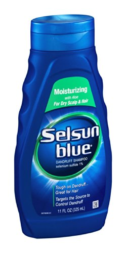 Selsun bleu Shampooing Hydratant avec Aloe 11OZ (Pack de 12)