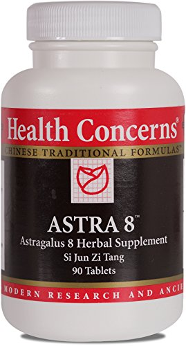 Health Concerns – Astra 8 – Astragalus 8 Herbal Supplement Si Jun Zi Tang – 90 Tablets
