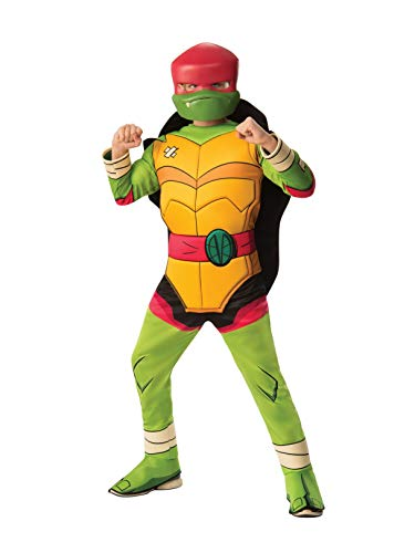 (Rubie's Child's Rise of The Teenage Mutant Ninja Turtles Deluxe Costume, Raphael,)