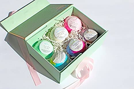 Luxury Bath Bombs Classic Box Made In The USA Argan Oil Ultra Lush