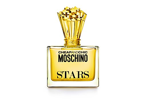 Moschino Cheap & Chic Stars Eau de Parfum Women Perfume Spray, 3.4 Fluid Ounce
