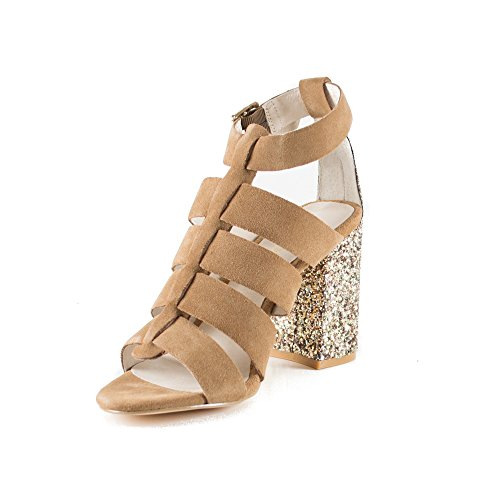 Glitter Con Sandalo S16087 2016 Croissant jo Liu P Mignon e BqHYwPSvq