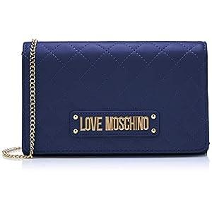 Love Moschino Damen Quilted Nappa Pu Clutch, 15x10x15 centimeters