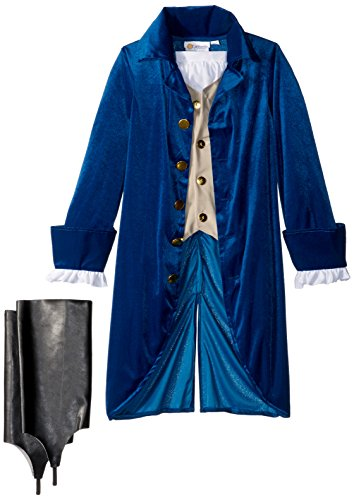 California Costumes George Washington/Thomas Jefferson/Alexander Hamilton and Colonial Child Costume, Large