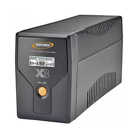 X3 EX 650 LCD USB FR/SCHUKO - Sistemas de alimentación ...