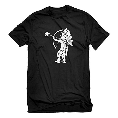 Mens Tootsie Pop Indian XX-Large Black T-Shirt]()