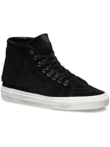 Vans SK8 Hi Moc Womens 9 / Mens 7.5 Black Blanc De Blanc Fashion Sneakers