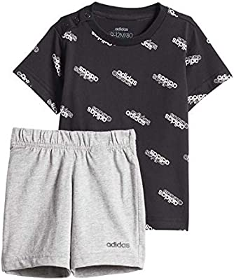 adidas Favorites Set Jr Chándal, Unisex bebé, Negro (Black/White ...