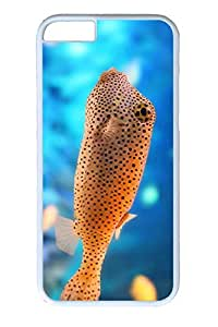 iPhone 6 Case, Personalized Unique Design Protect Covers for iPhone 6 PC White Edge Case - Fish
