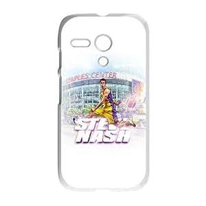 Motorola G Cell Phone Case White Steve Nash LSO7973339