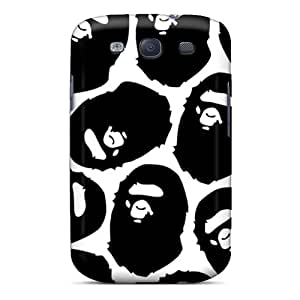 DannyLCHEUNG Samsung Galaxy S3 Protector Hard Phone Covers Unique Design Beautiful Bape Series [Jlq16zfZa]