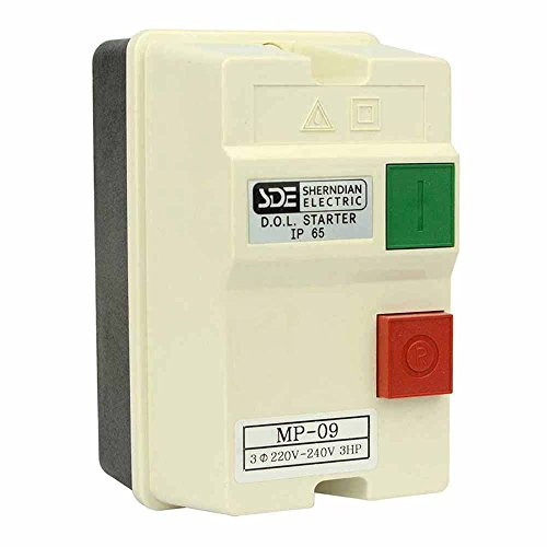 Big Horn 18833 3-Phase, 220-240-Volt, 3-HP, 8-12-Amp Magnetic Switch - UL Approved ()