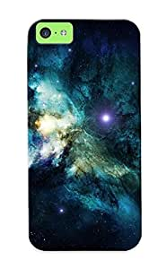 Durable Outer Space Stars Nebulae Space Art Back Case/cover For Iphone 5c