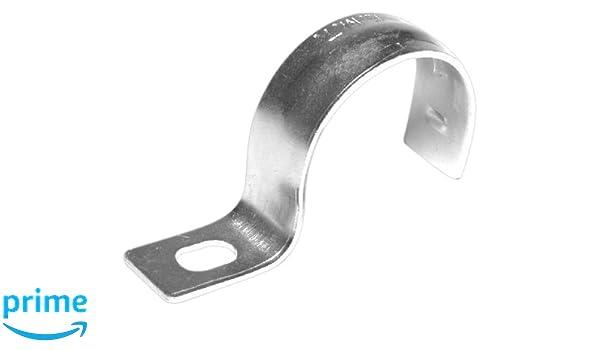 Dottie HW200 1 Hole Conduit Strap 2-Inch Zinc Plated 50-Pack L.H