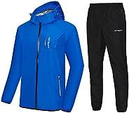 HOTSUIT Sauna Suit Men Weight Loss Anti Rip Sweat Suits Workout Jacket
