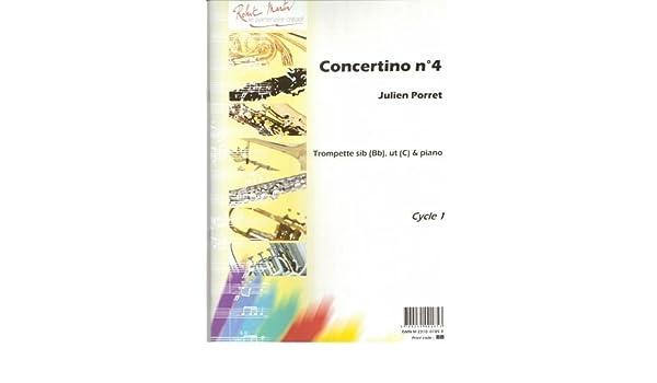 Partitions classique ROBERT MARTIN PORRET J. - CONCERTINO N4, SIB ...