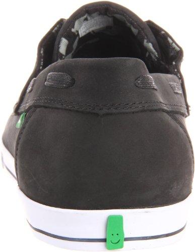 Sanuk Mens Shore Leave Oxford Shoe Charcoal