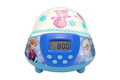 LEXIBOOK NLJ140FZ Frozen Projector Nightlight Radio Alarm Clock