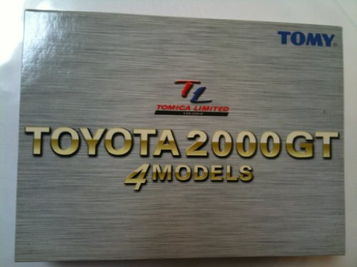 1/59 トヨタ 2000GT 4台セット 「トミカリミテッド」 639992の商品画像